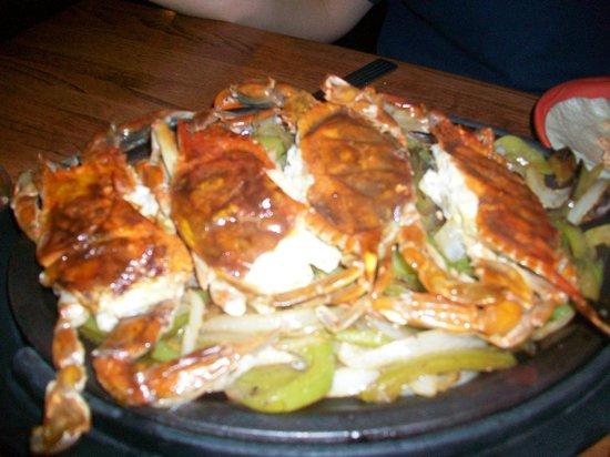 Dos Locos: Soft shell crab fajitas