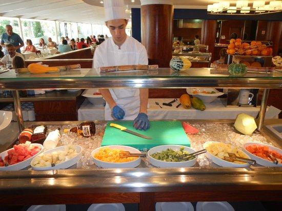 Blaumar Hotel : Обед