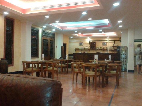 Hotel Sercotel Rosaleda de Don Pedro: cafeteria junto a hall