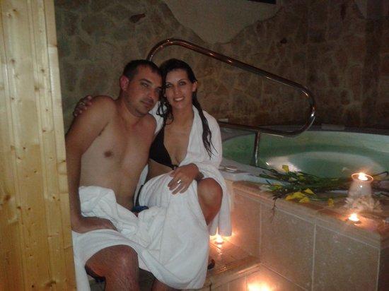 Hotel Sercotel Rosaleda de Don Pedro: jacuzzi del spa
