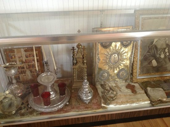 St. Michael's Cathedral: Some of the gorgeous artifacts on display inside the Cathedral.