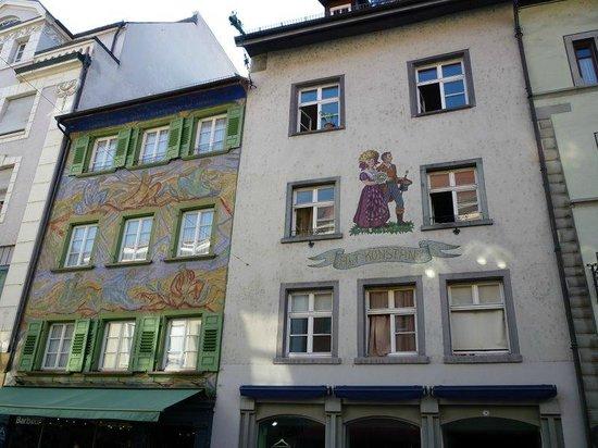 Niederburg: The centre