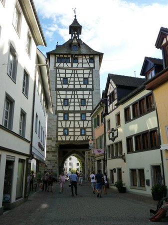 Niederburg: Hus house and the tower