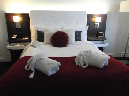 هوتل دي كوتيليير: la nostra fantastica camera