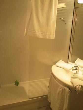 Ibis Budget Lyon Dardilly : Salle de bain avec douche
