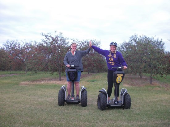 Off-Road Segway Adventures: High-five!