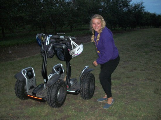 Off-Road Segway Adventures: ...mall cop!