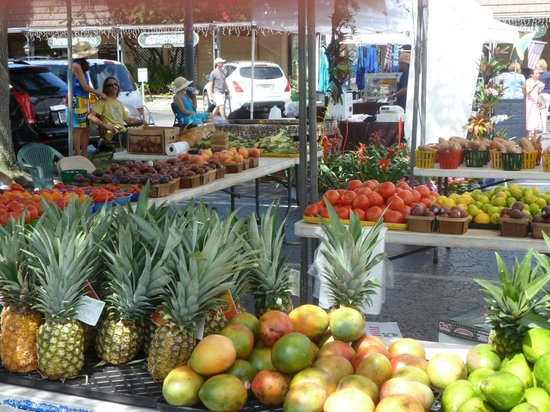 Minorga on the Key Village Condos: Sunday Farmers' Market -across the street