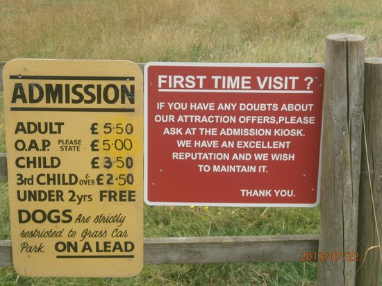 Staintondale Shire Horse Farm: Farm Fees