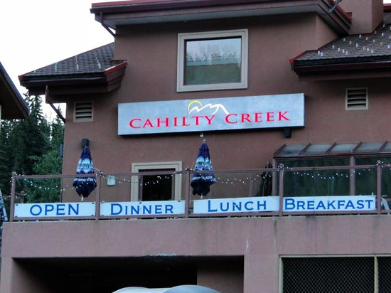 Nancy Greene's Cahilty Lodge: Restaurant
