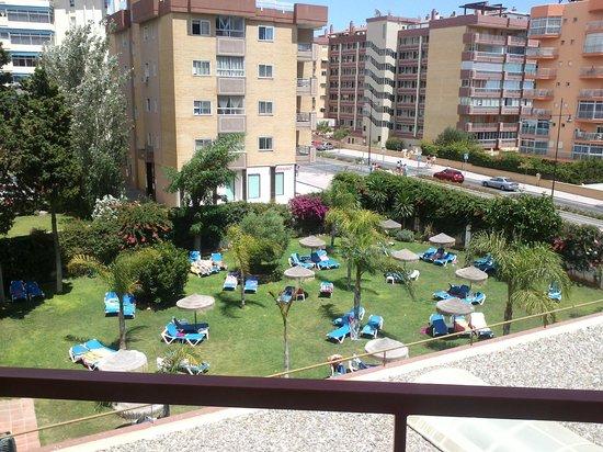Hotel Monarque Cendrillón: vista desde el balcon