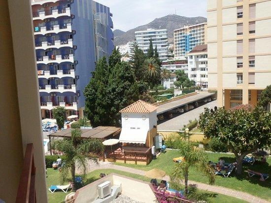 Hotel Monarque Cendrillón: vista desde habitación