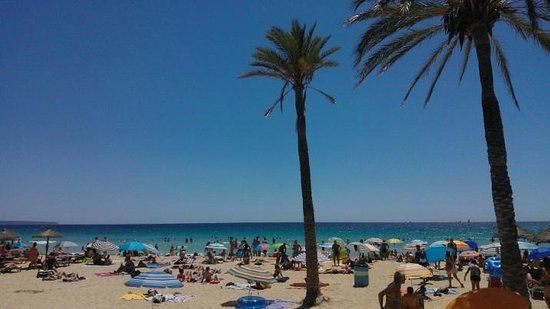 Blue Bay Hotel: The Cala Major Beach, a short walk away.