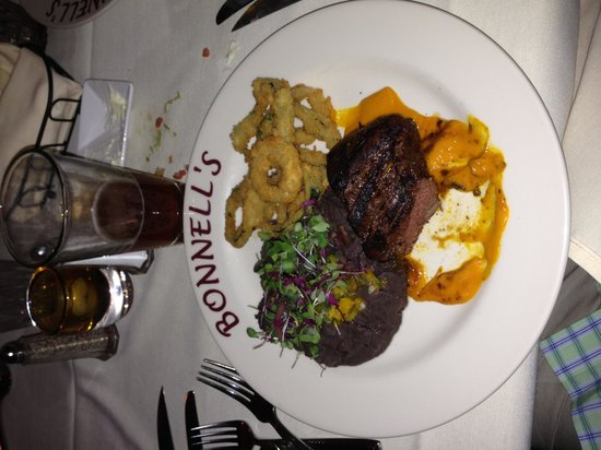Bonnell's Restaurant: Elk tenderloin