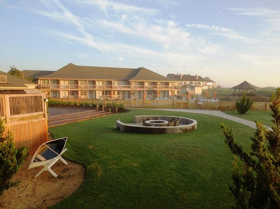 view of the grounds from our balcony picture of. Black Bedroom Furniture Sets. Home Design Ideas