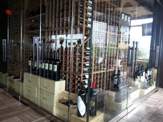 Del Frisco's Double Eagle Steak House - Boston: An amazing wine selection