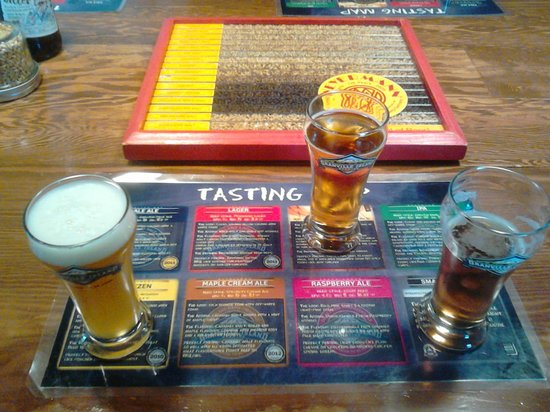 Granville Island Brewing: Samples after the Tour