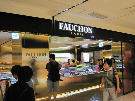 Food Court at Lotte Department Store Main: Fauchon Bakery