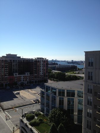 Courtyard Baltimore Downtown/Inner Harbor : View from room