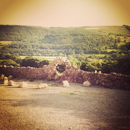 Sun Bank Holiday Cottage and Bed & Breakfast: Stunning view...