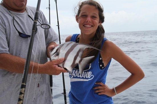 Indigo Reef Marina Homes Resort: Catch and release!