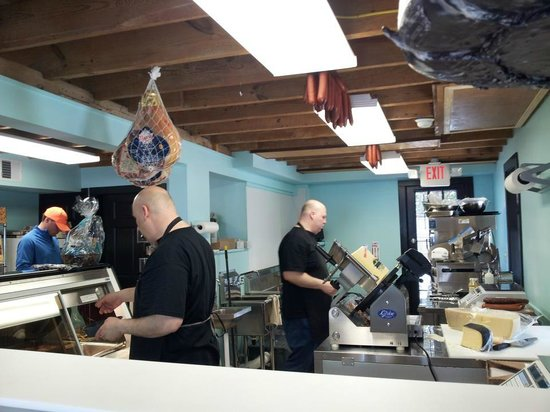 Frank & Louie's Italian Specialties: The brothers