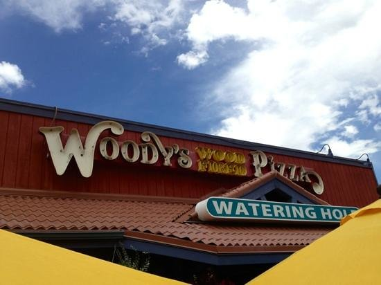 Woody's Woodfired Pizza: A visit to Woody's is a must for Golden