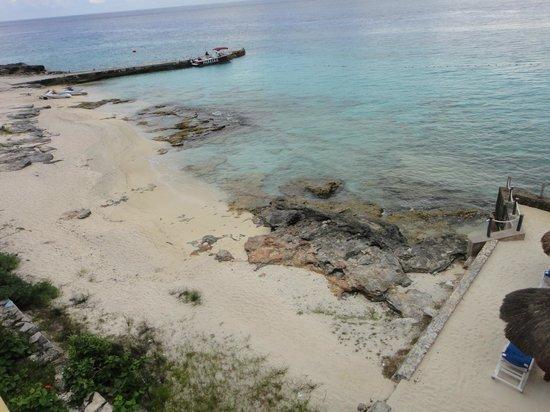 Playa Azul Golf, Scuba, Spa: Secondary beach - bring water shoes