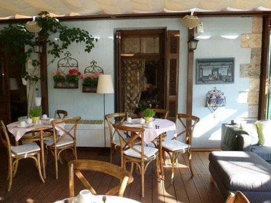 Boutique Hotel Kentrikon: Breakfast area