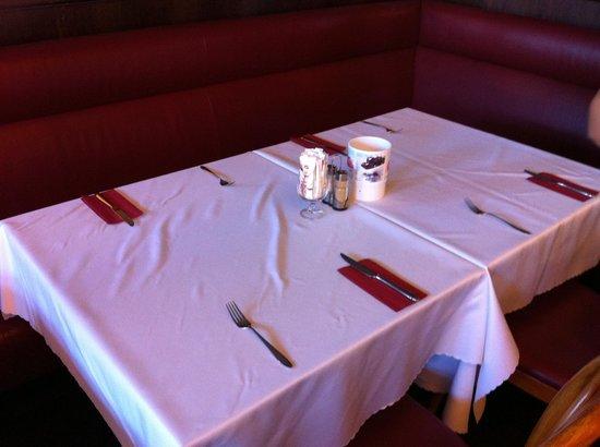 Hotel Merian am Rhein: Tavolo colazione del Hotel.