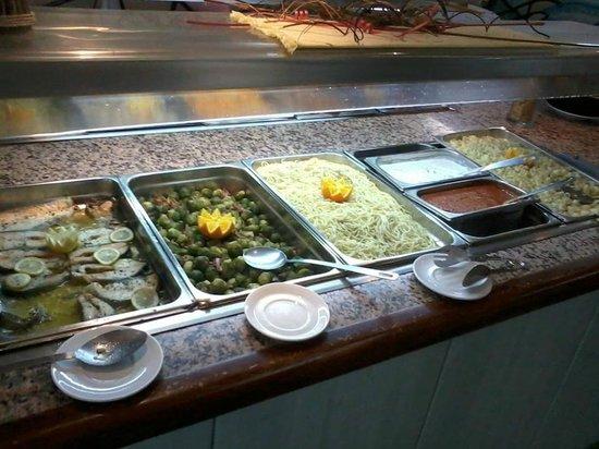 Marina Sur Hotel: buffet
