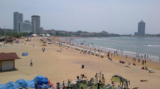 No.1 Bathing Beach: Vue de la plage