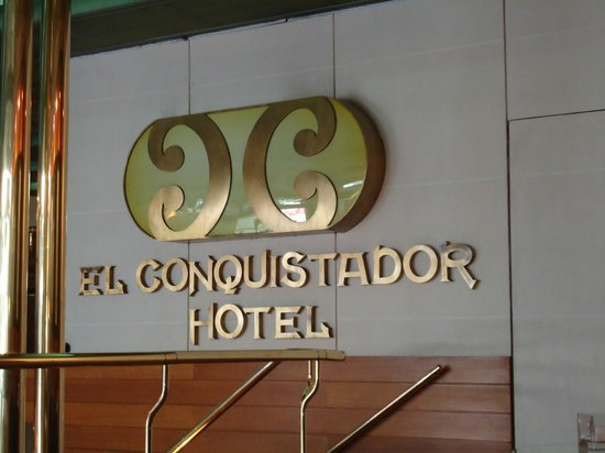 El Conquistador Hotel: Logotipo do Hotel (Interno)