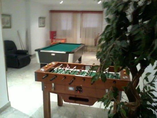 Marina Sur Hotel: solon de juegos