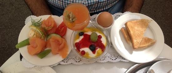 Fingerlos: Salmon breakfast