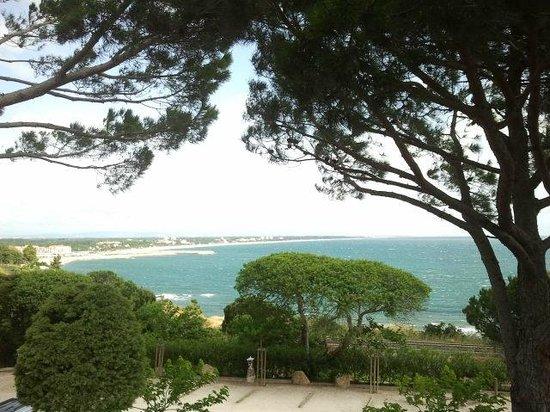 Hôtel Les Mouettes  : La costa, a los pies del hotel