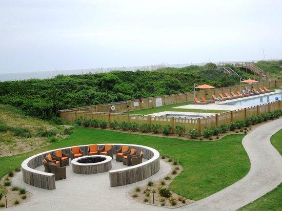 Sanderling Resort: View from Beach House balcony
