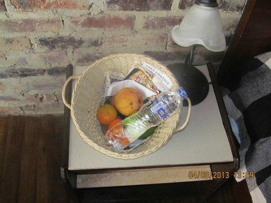 Casa Rustica Bogota: Cesto de frutas.Cortesia