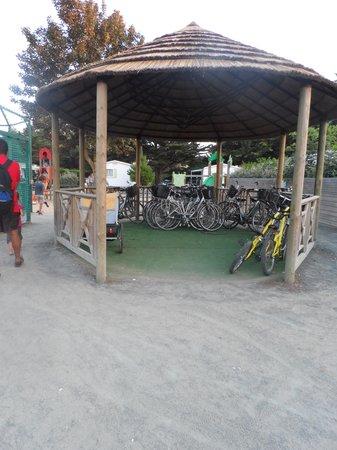 Camping Les Peupliers: location de velo