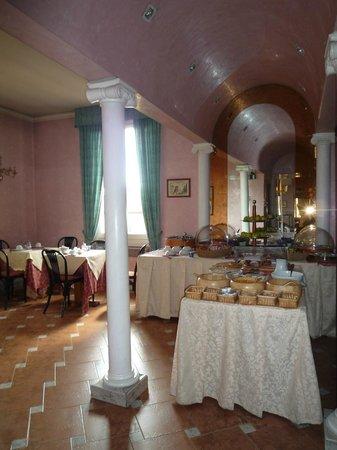 Hotel Alinari: sala colazione