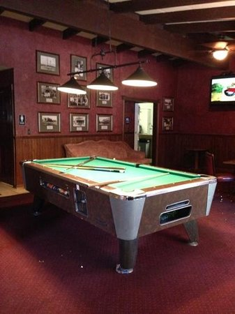 The Saloon At Jack London Lodge: Pool Table