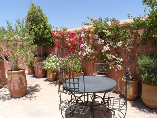 Riad Dar Foundouk : The peacefully terrace