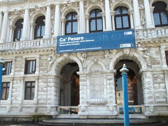 Ca' Pesaro Galleria Internazionale d'Arte Moderna: Fachada barroca