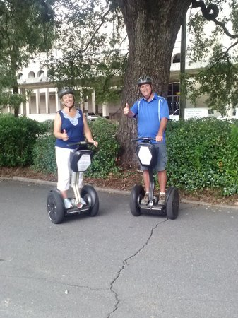 Segway of Savannah: After a most excellent tour!