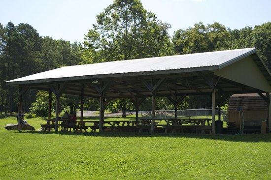 Wytheville KOA : Spacious Pavilion