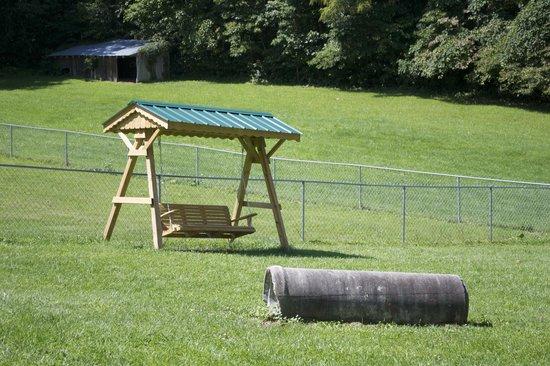 Wytheville KOA : Dog park