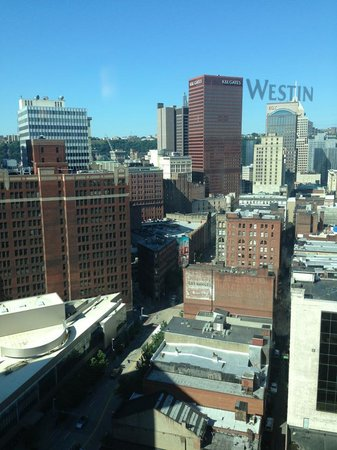 The Westin Convention Center Pittsburgh: wonderful view