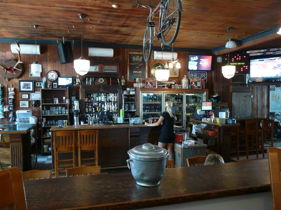 The Waverley Hotel Pub: The bar at the Waverly
