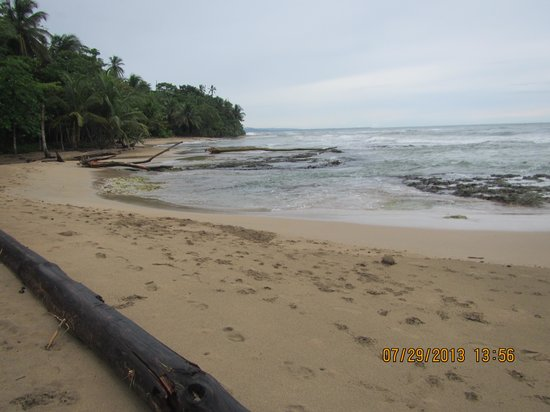 Playa Chiquita Lodge: beach at the lodge
