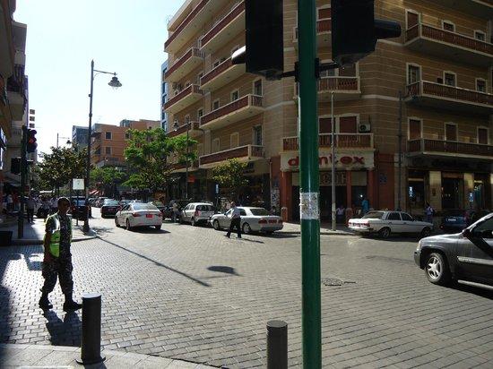 Plaque Picture Of Hamra Street Beirut Tripadvisor